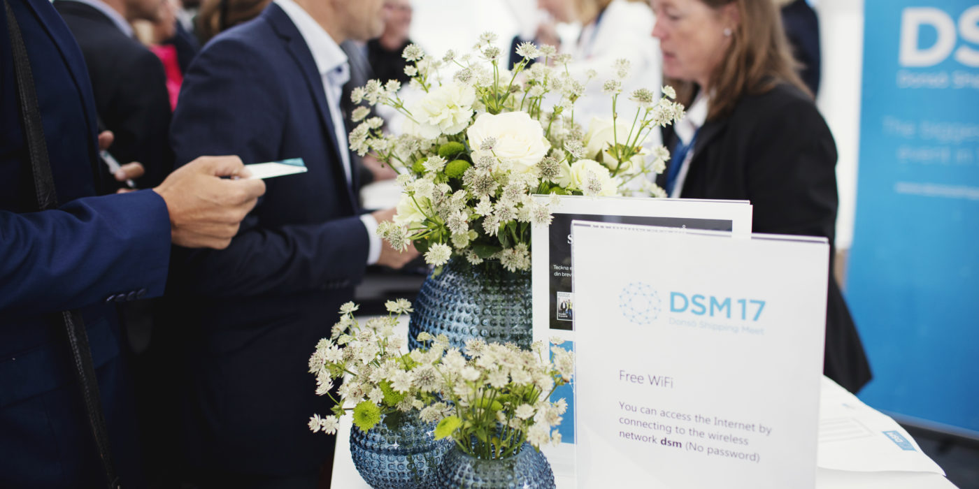 Registration at DSM17