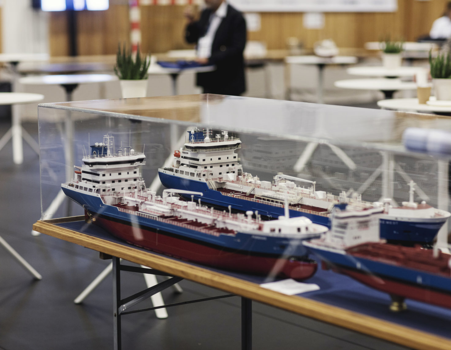 Model of a ship