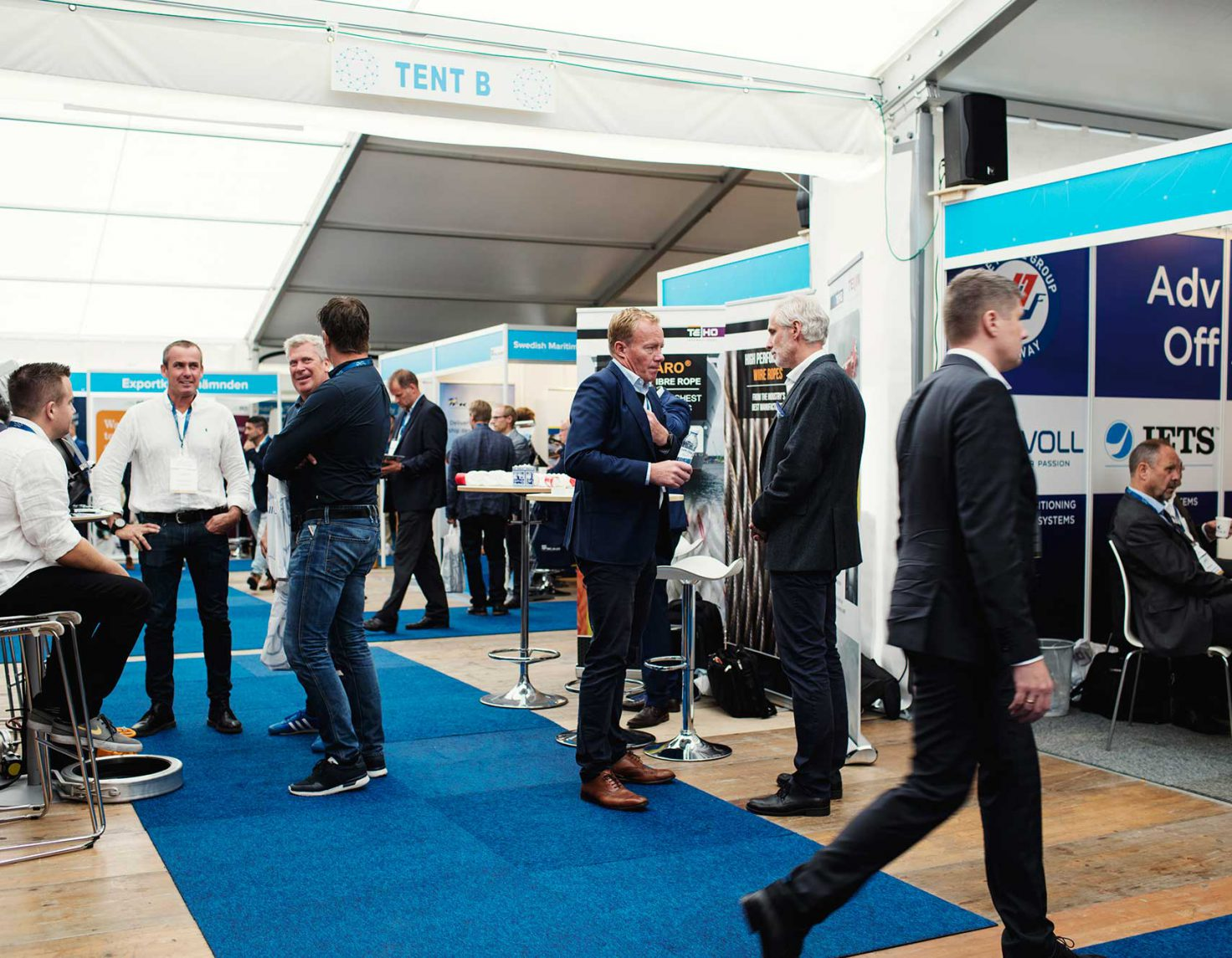 Exhibitor stand – Donsö Shipping Meet