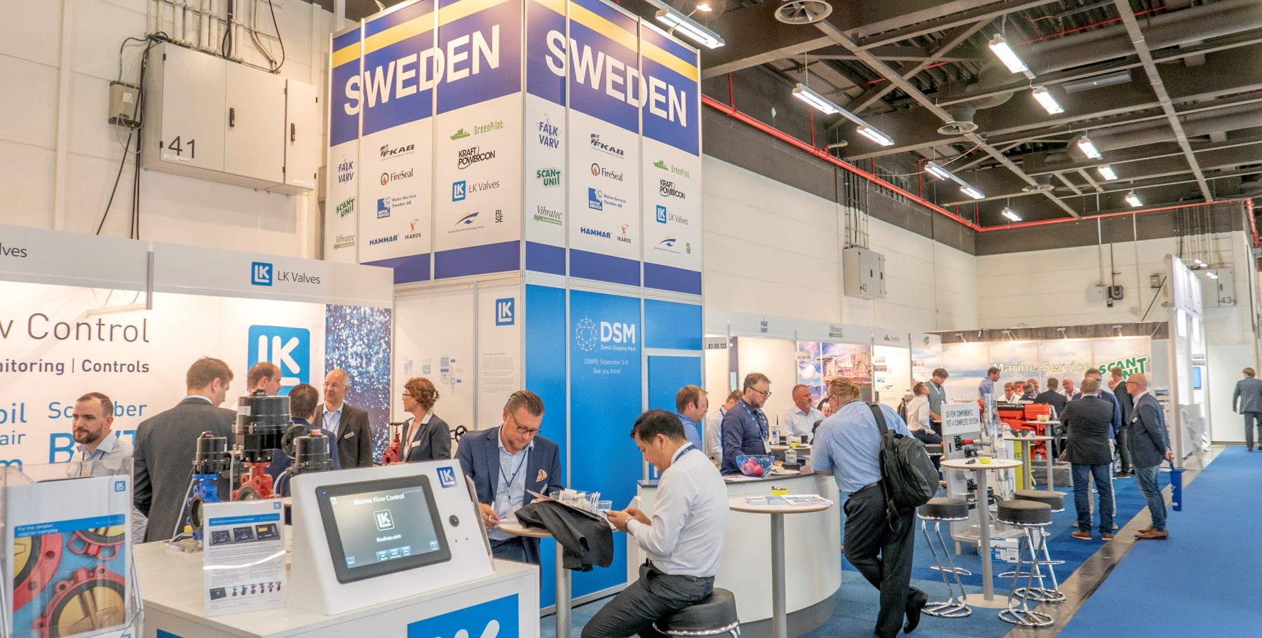 DSM at SMM in Hamburg – Donsö Shipping Meet